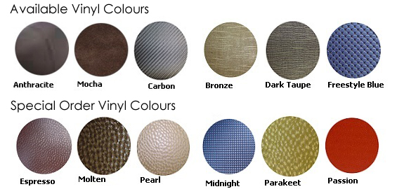 softub vinyl swatches